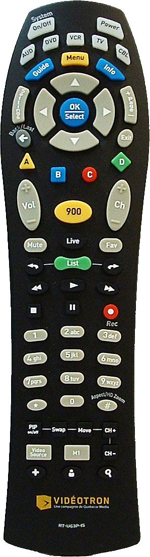 Telecommande Simplifiee