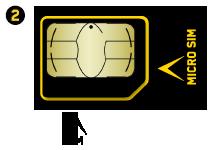 Deux formats carte micro sim et carte sim soutien vid otron - Couper sa sim en microsim ...