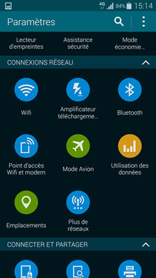 Configuration Android Samsung