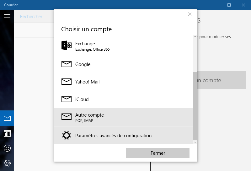 04-Courrier-Windows10-imap-fr