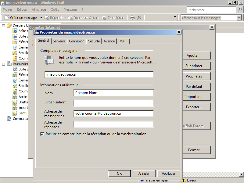 10-Windows Mail-imap-fr