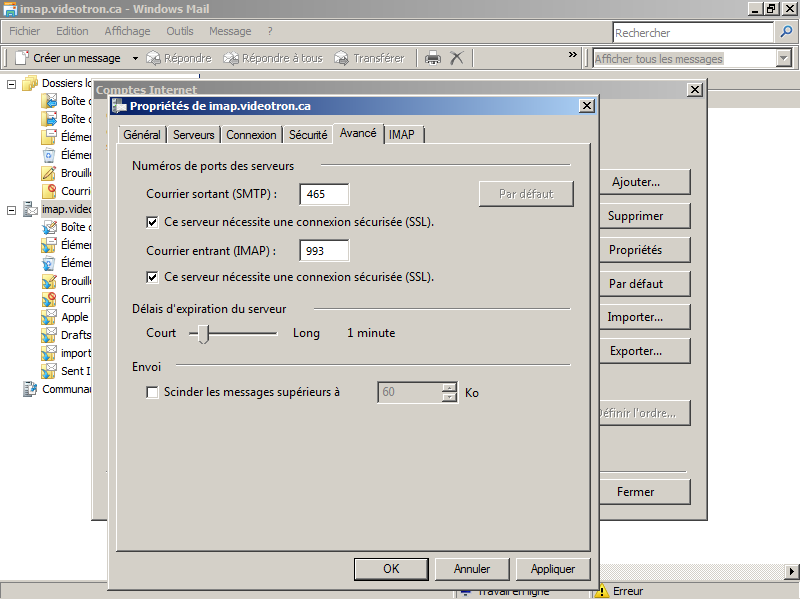 11-Windows Mail-imap-fr